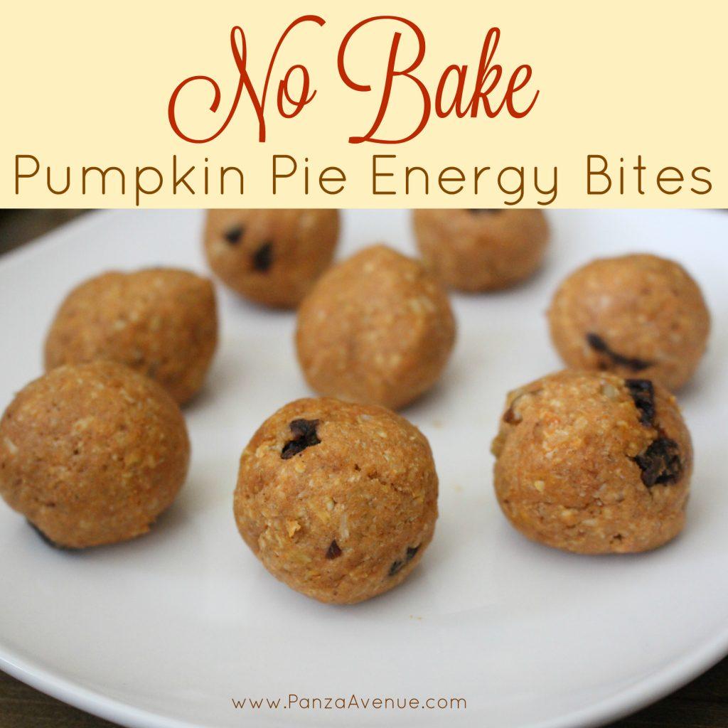 pumpkin pie energy bites panzaavenue.com
