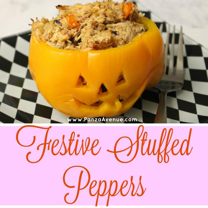 pumpkin jack o lantern bell peppers panzaavenue.com