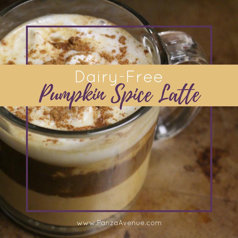 dairy free pumpkin spice latte panzaavenue.com