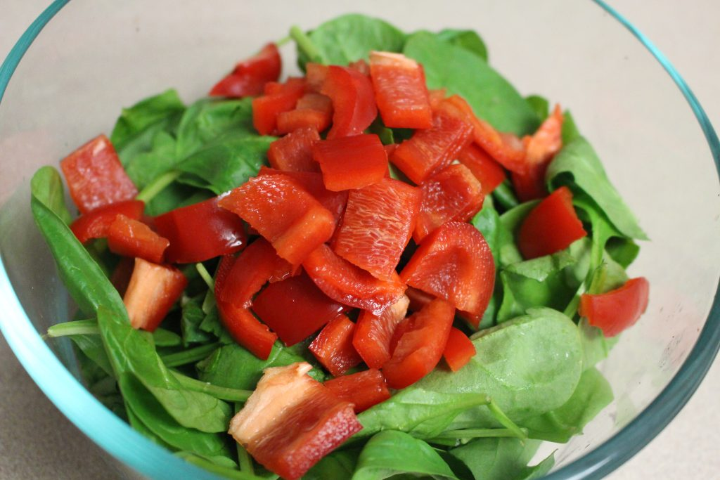 Steak, Spinach, and Strawberry Salad