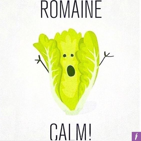 romaine-calm. 8 ways to stay on track this weekend.