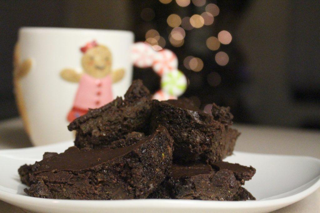 zucchini dark chocolate brownies