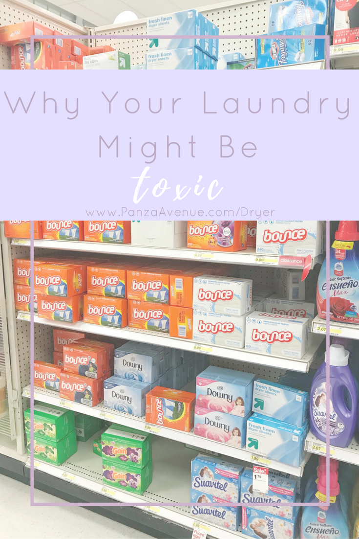 That was until I found out that dryer sheets are one of the MOST toxic products we use in our household.  Natural alternatives for dryer sheets. Going green