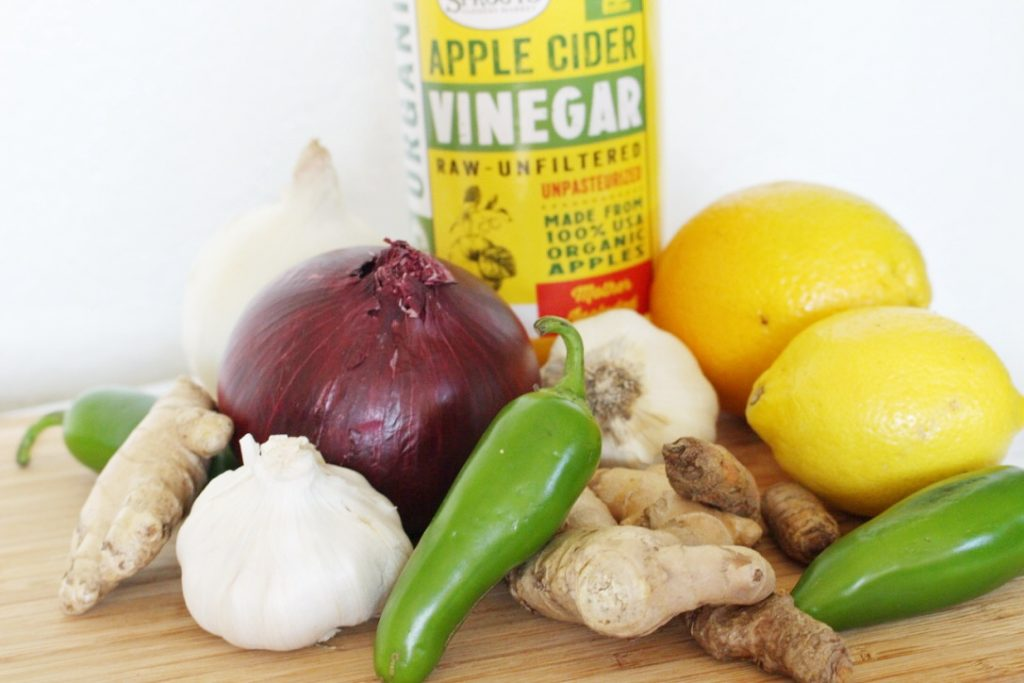 Cure colds, fight the flu, calm allergies, and boost immunity. Nope, it isn't the newest vaccine your doctor is pushing, it is fire cider! Like you (probably), I had no idea what fire cider even was until I read about it on a blog.